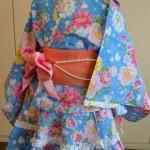 女の子に人気の、スカートみたいな浴衣ドレス!