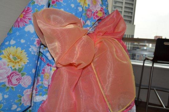 女の子の浴衣の帯の結び方