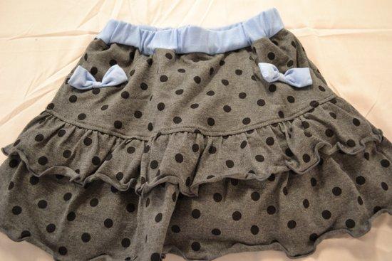 ブルマ付スカート