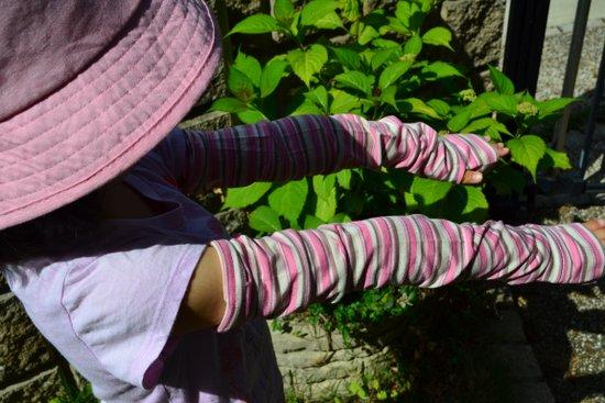 子供用の腕カバー