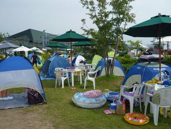 似たようなテント