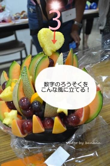 誕生日ケーキの代わりにフルーツバスケット