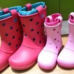 親子お揃いで履けるかわいいブーツ!雪対策にも!