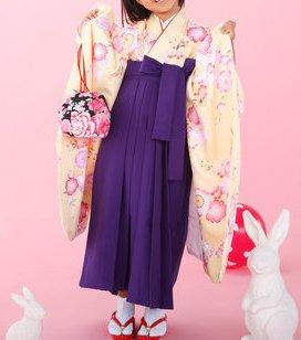 卒園式に目立つ袴スタイル