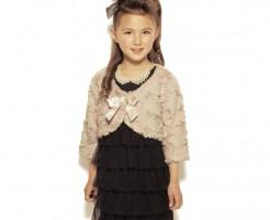 卒園式ドレス用のボレロ