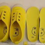 0.5㎝刻みの子供靴を探しているママに!サイズ0.5㎝を調節できる靴!