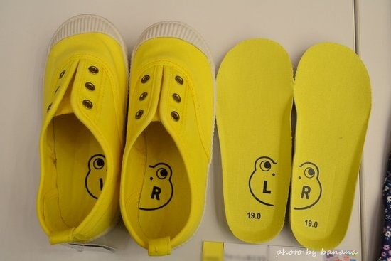 0.5㎝サイズのある子供靴