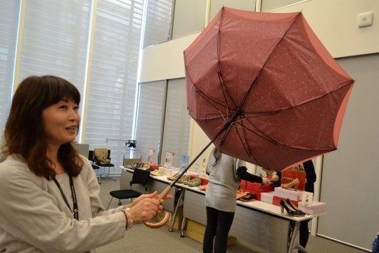 強風でも壊れない傘