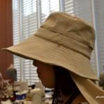 ママに便利なつば広でおしゃれなUVカット帽子!送迎&お散歩用にぴったり!