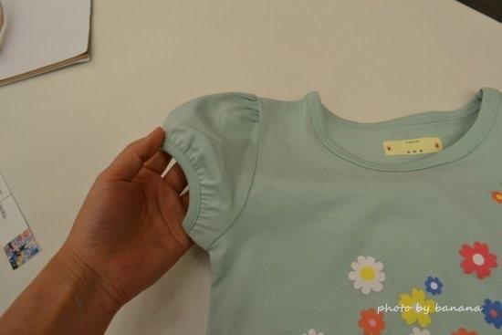 名札で穴が開かない子供服