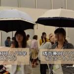 ほぼ完全遮光の日傘は、本当に涼しくてかわいい日傘だった!