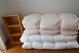 羽毛布団の収納方法 収納袋
