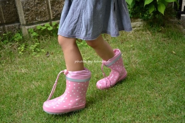 子供用ショート丈おしゃれ長靴