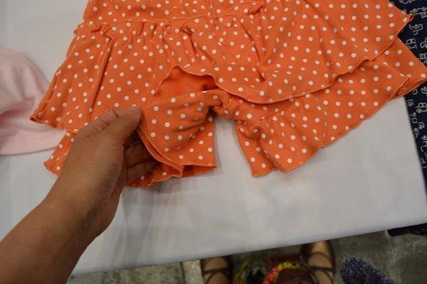 保育園女子の服装にスカートみたいなズボン