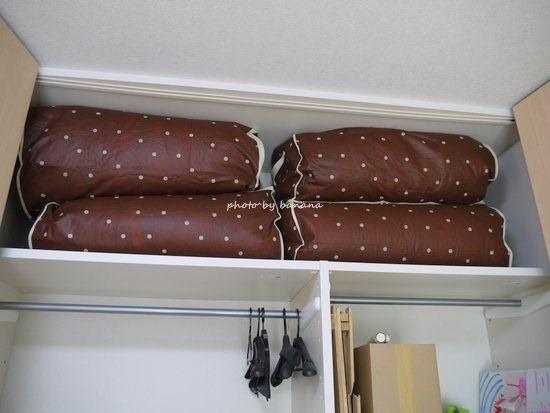 布団をクローゼットに収納できる収納袋