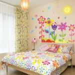子供部屋のかわいい壁紙シール