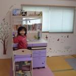 実例!子供部屋をはがせる壁紙シールで飾ってみた!おしゃれ!