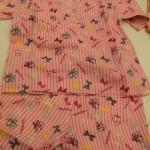 保育園のお昼寝用パジャマ甚平 パジャマみたいにみえない