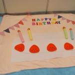 赤ちゃんの1か月2ヶ月記念・100日記念に簡単お昼寝アートをやってみよう!