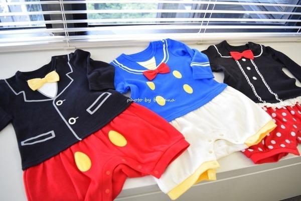 ミッキーの赤ちゃん服