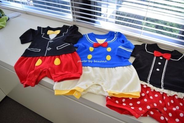 ミッキーの赤ちゃん服 コスプレ