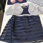 クリスマスから卒園式まで着られる女の子服装スーツ