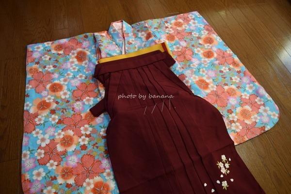 幼稚園・保育園の卒園式に子供女の子の袴 着用例口コミブログ