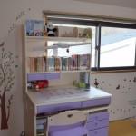 子供部屋に壁紙アクセントがかわいい!シールで簡単に北欧風&風水も!