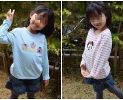 かわいい&安い子供用長袖Tシャツ
