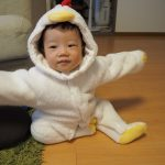 赤ちゃんの着ぐるみならこれ!普段着使いもできるジャンプスーツ50・60・70サイズ ヒツジ・パンダ・クマ・ウサギ・ニワトリが勢ぞろい