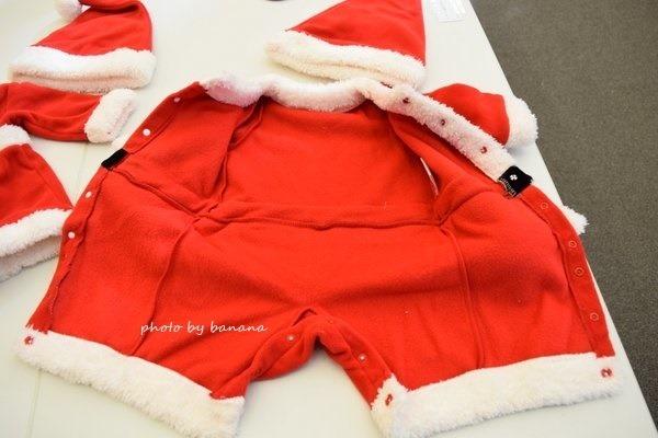 かわいい赤ちゃん用サンタ服 サイズ70.80.90
