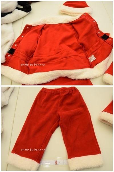 かわいい赤ちゃん用サンタ服 サイズ80.90.100
