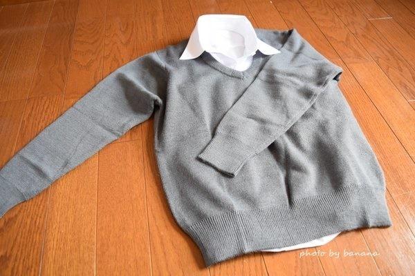 通販で人気の幼稚園・小学校制服用セーター