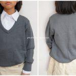 通販で通園・通学用制服セーターを使ってみた!安い割に上質で感動!