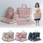 手作りに見える手提げ袋セットが販売されています!入学・入園準備を簡単に!