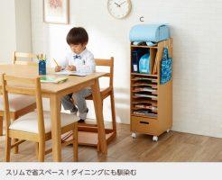 勉強机を買わない収納棚