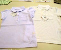 子供制服用 白ポロシャツ 通販安い