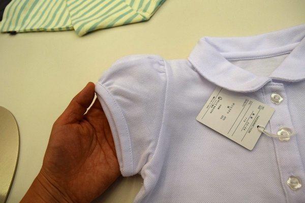 子供制服用 白ポロシャツ 通販安い 女の子かわいい