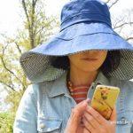 超超つば広帽子を買った!日傘がさせない時も「つば広ハット」で日焼け防止だ!