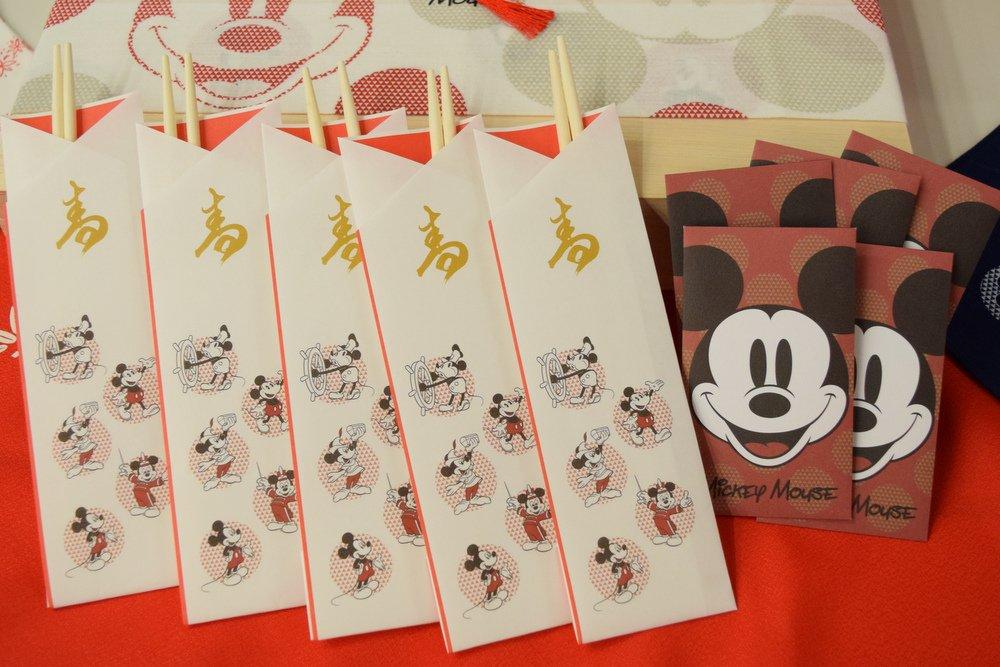 2019ディズニーおせち 箸&ポチ袋